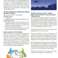 Human Factors for Aircraft Maintenance