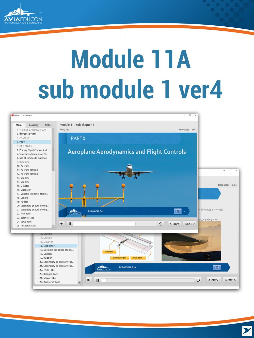 Module 11A - sub-module 1 ver4 - AVIA Educon